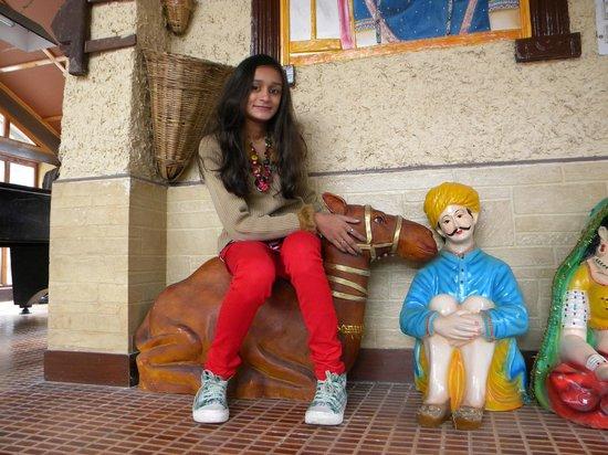 Whispering Valley Resorts : Khushi on Camel