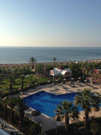Pegasos Beach Hotel: Вид из номера