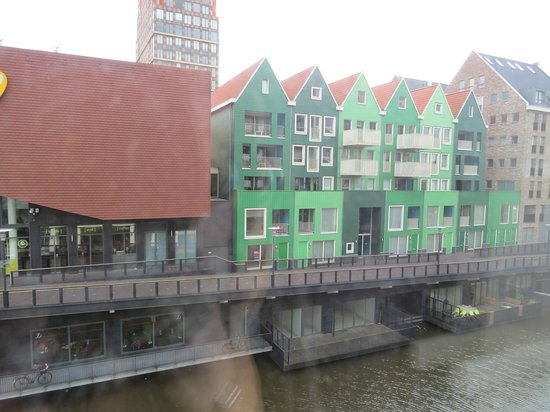 Inntel Hotels Amsterdam Zaandam : Blick aus unserem Zimmer