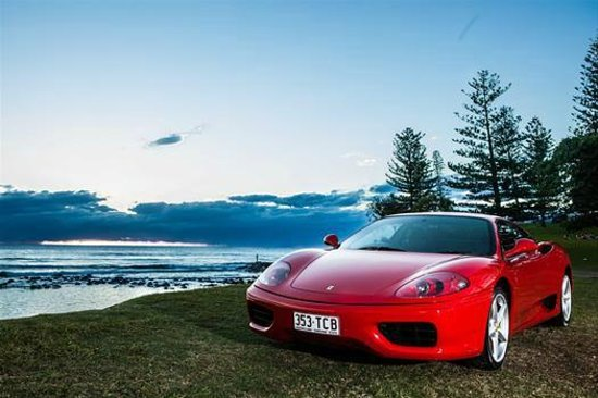 Logan City, ออสเตรเลีย: Ferrari Hire Gold Coast