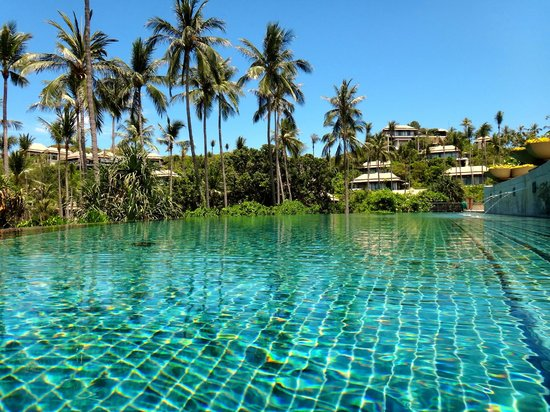 Banyan Tree Samui: プールです。
