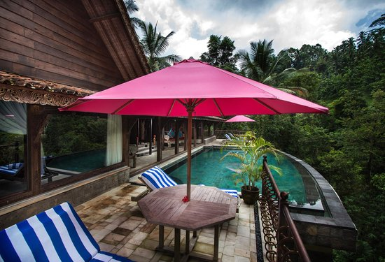 Ayung Resort Ubud: Private Pool at One Bedroom Villa