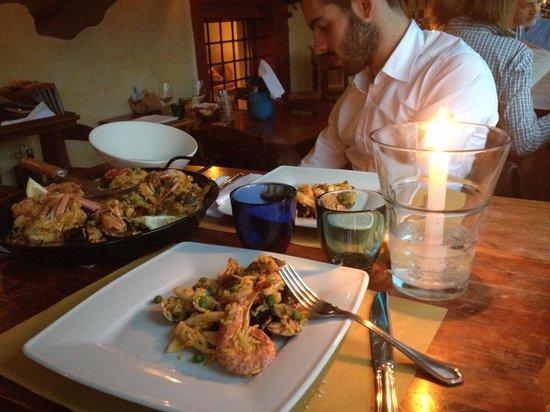 Trattoria Fluviale Vecio Mulin: Paella