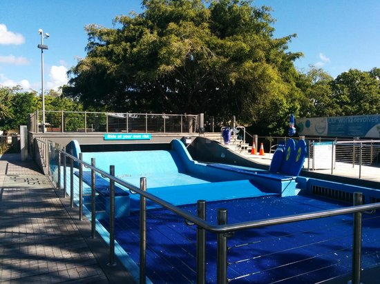 WetSide Water Park: Tickets need to be purchased for the board rider