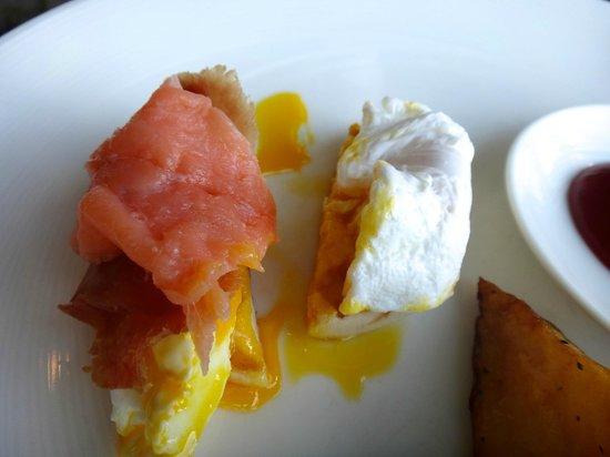Banyan Tree Samui : 朝食です。