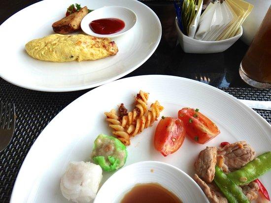 Banyan Tree Samui: 朝食です。