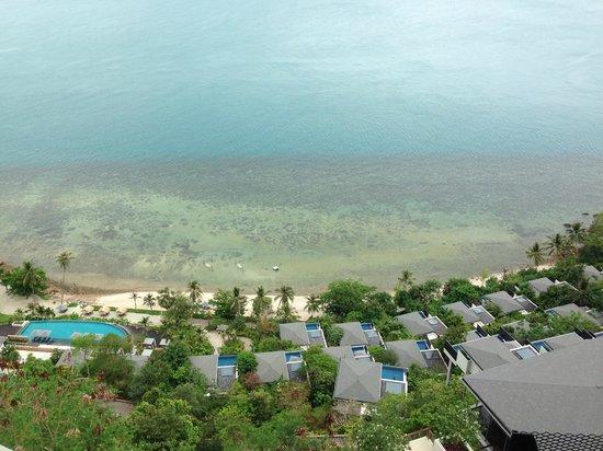 Conrad Koh Samui : view from the hotel lobby