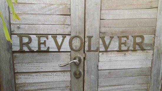 Revolver Espresso: The main entrance