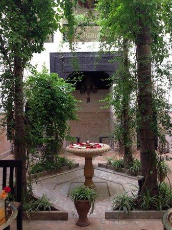 Dar Jaguar: The courtyard