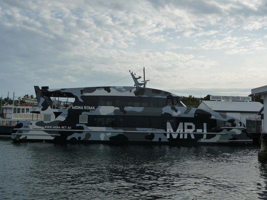 Battery Point: Mona Boat