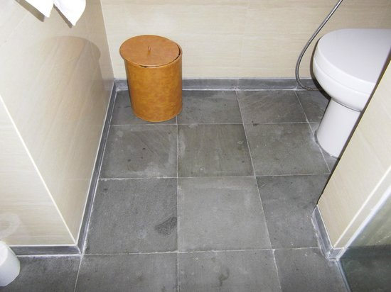 Ossotel: bathroom floor