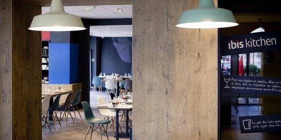 Ibis Lyon Part Dieu Les Halles : Restaurant
