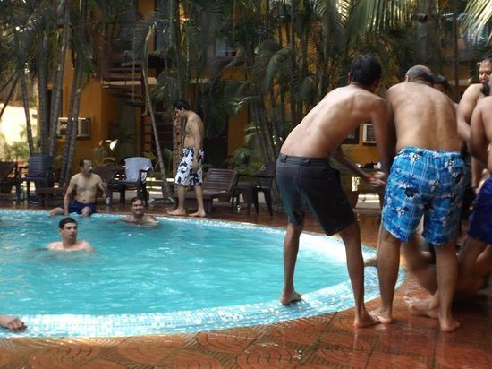 Fun By The Pool Picture Of Silver Sands Beach Resort Daman Daman Tripadvisor