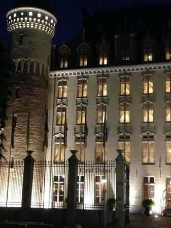 Hotel Dukes' Palace Bruges: facciata