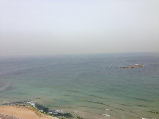 Hilton Alexandria Corniche : Sea view