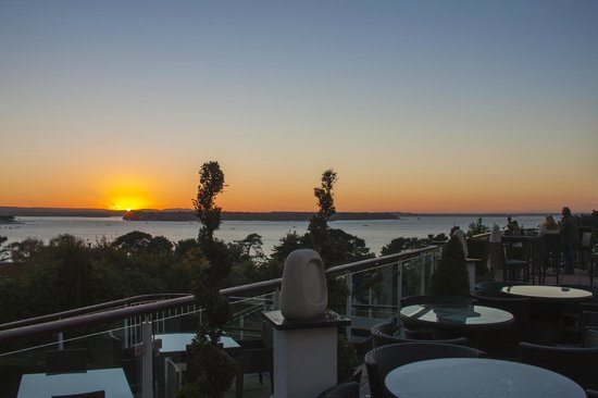 Harbour Heights Hotel: Sunset over the Harbour