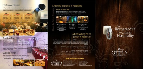 Hotel Royal Castle Grand: brochure 2