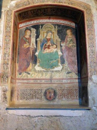 Chiesa di Santa Maria Maggiore: affresco