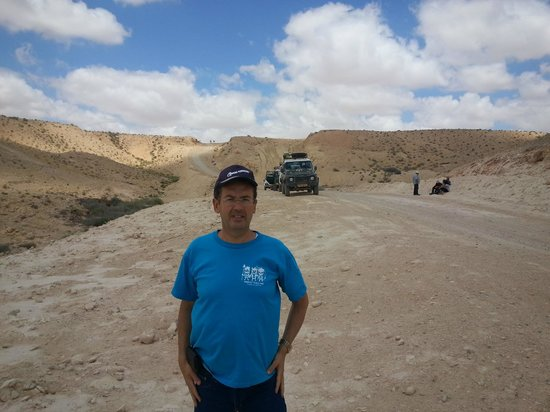 Desert Land Adventure Tours - Private Day Tours: in the ramon crater