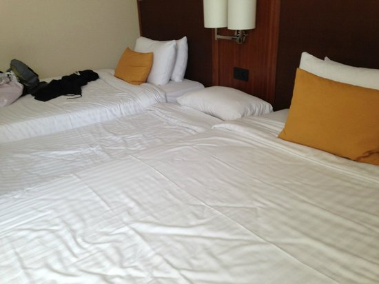 Courtyard Paris Arcueil: No 3 bedded room.. just an extra bed