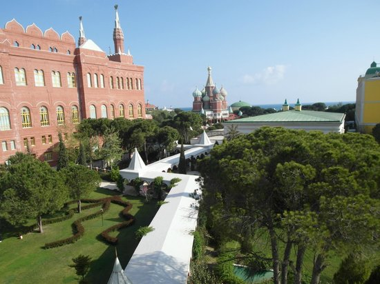 WOW Kremlin Palace: Наш вид с окна