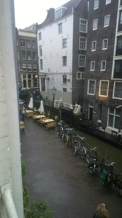 France Hotel Amsterdam: view from room