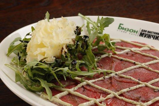 Steak House Butcher: Карпаччо из говядины