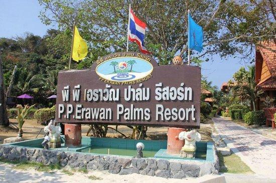 P.P. Erawan Palms Resort : Ingresso Hotel