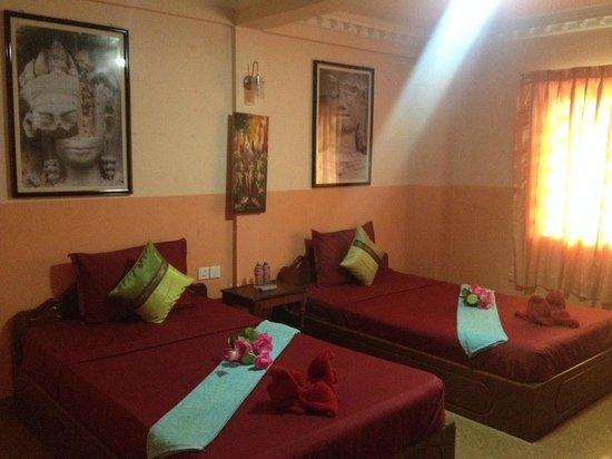 Adan World : room we stayed,nice