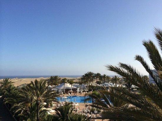 Hotel Riu Palace Maspalomas: Sicht von Liegewiese