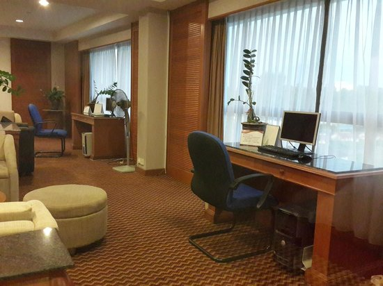 ParkCity Everly Hotel Miri: Executive Lounge with city view