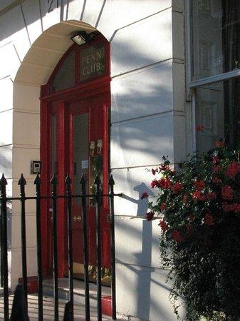 The Penn Club: Front door