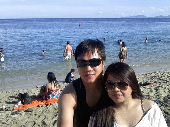 White Beach : picture w/ heart