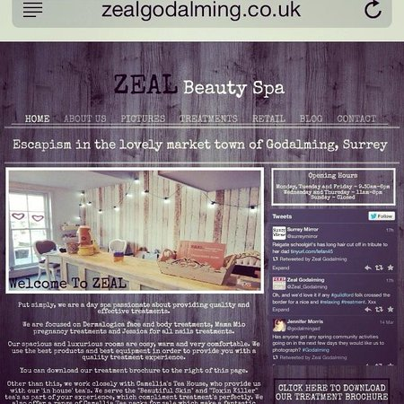 Zeal beauty godalming