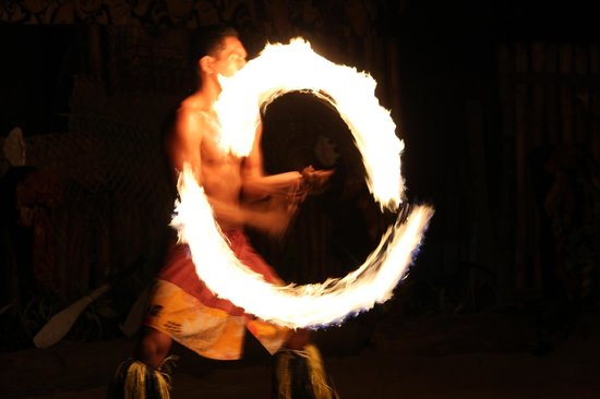 Robinson Crusoe Island: Огненное шоу