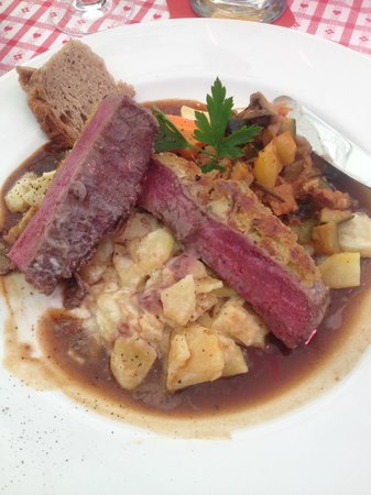 Zum Alten Markt: My amazing main course!