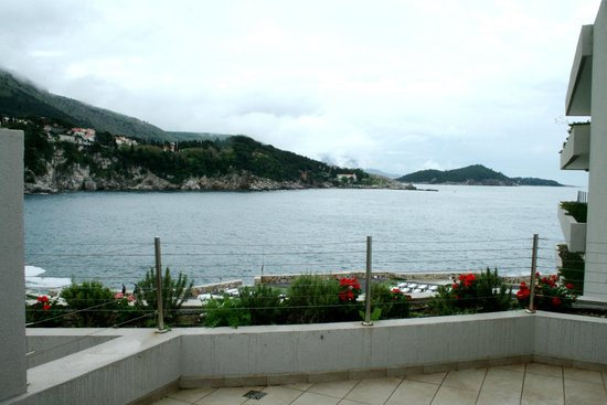 Rixos Hotel Libertas: view from balcony