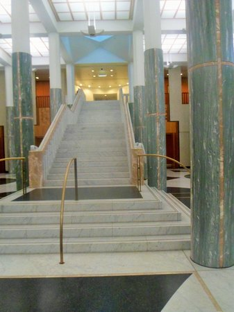 Australian Parliament House: Hall and Staircase