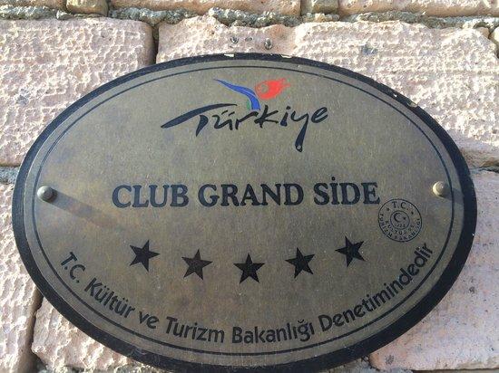 Club Grand Side: hotel
