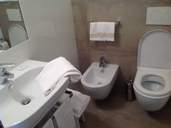 Metropole Suisse Hotel: The bathroom