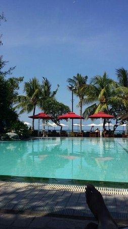 Griya Santrian : Amazing beach pool