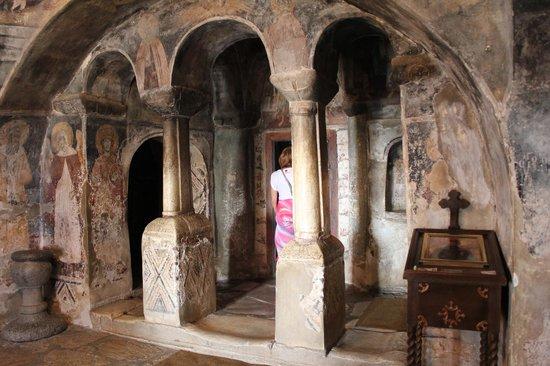 Monastery of Saint Naum : Внутри