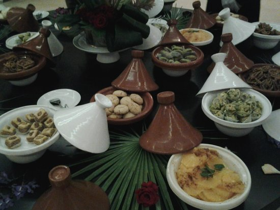 Pullman Marrakech Palmeraie Resort and Spa : buffet dessert