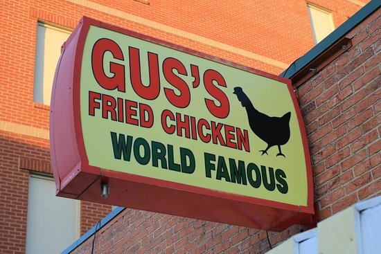 Gus's World Famous Fried Chicken : World famous?