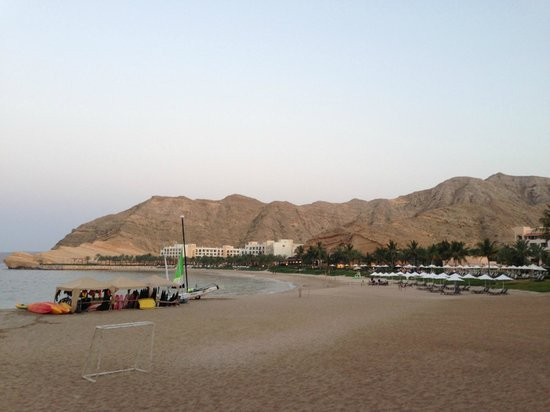 Shangri La Barr Al Jissah Resort & Spa-Al Husn: Spiaggia