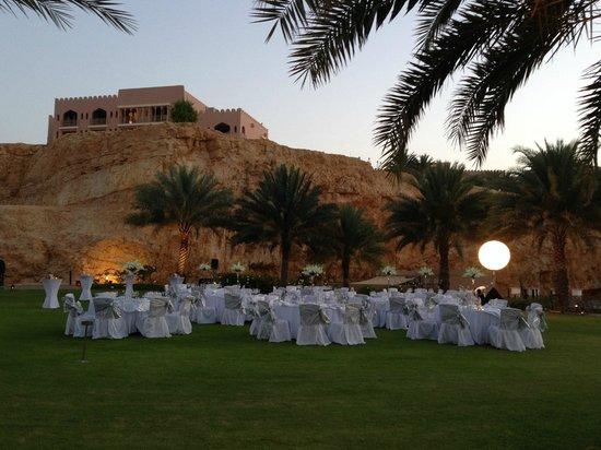 Shangri La Barr Al Jissah Resort & Spa-Al Husn: evento in giardino