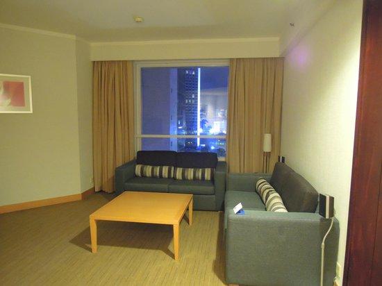 living room (Novotel Century Hong Kong)