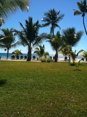 Andilana Beach Resort : Vista dalla nostra camera