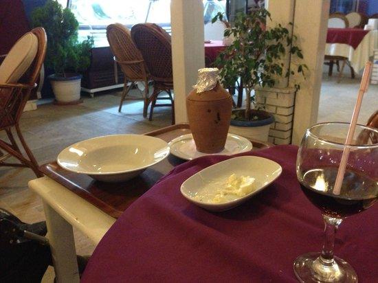 La Villa Restaurant: Clay oven pot