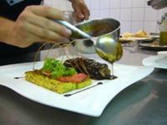 Hotel Kirnbacher Hof: Küche